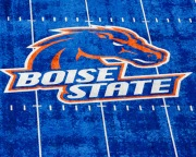 The blue smurf field of Boise St