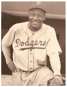 Dan during his days with the Dodgers