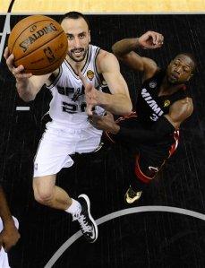 NBA Finals Heat Spurs Basketball 19