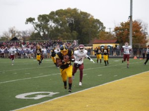 Lawrence Bryant with the receiving TD in 1st quarter