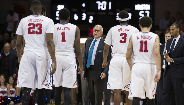 NCAA Basketball: Houston at Southern Methodist