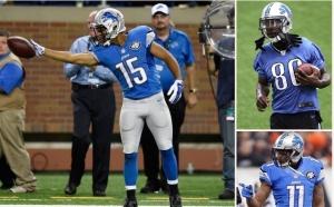 lions receivers