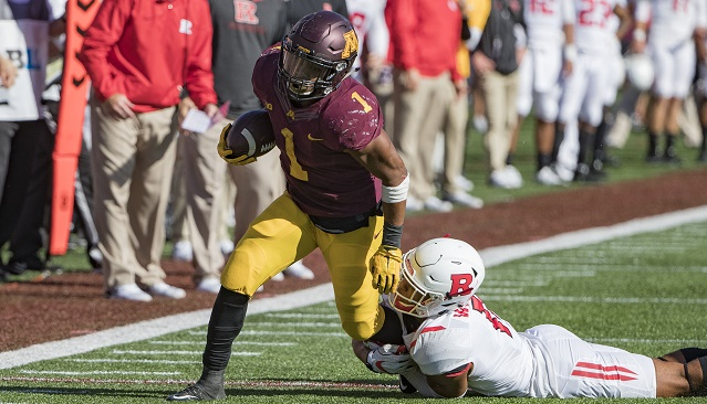 Shannon Brooks Minnesota Running Back Sports Q&A