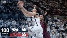 uconn womens basketball wins its 100th conescutive game